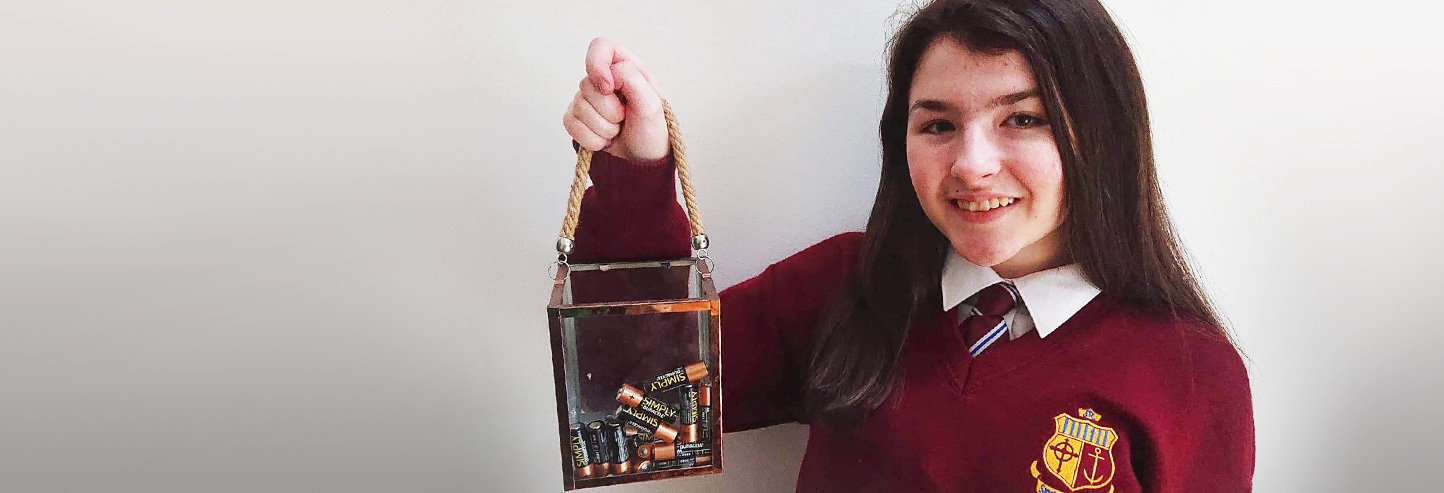 Challenge your school, get involved in collecting used batteries and help LauraLynn